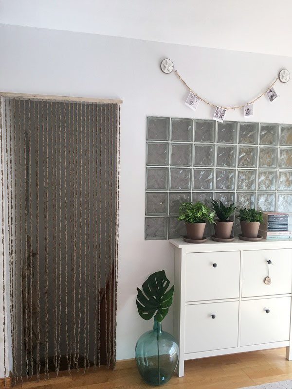 House tour mueble de ikea y pared de paves