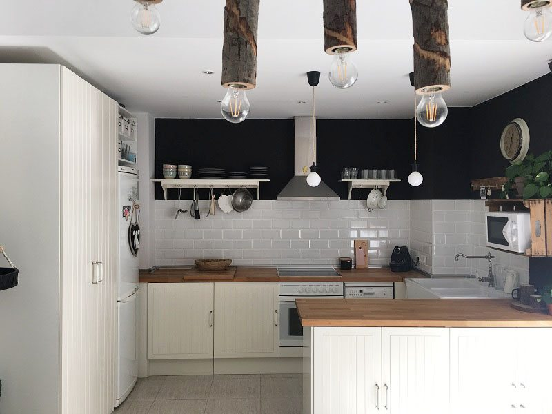 House tour cocina de ikea y azulejos metro