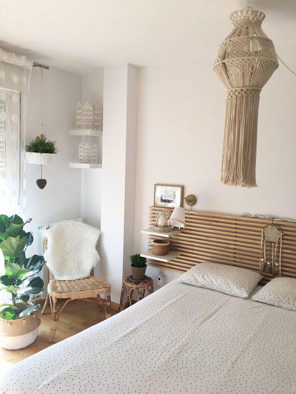 House tour habitacion principal blanco y madera