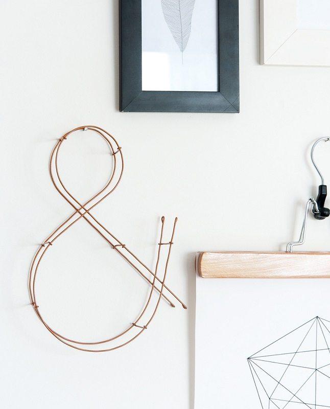 Letra decorativa de alambre (@blancoydemadera) (1)