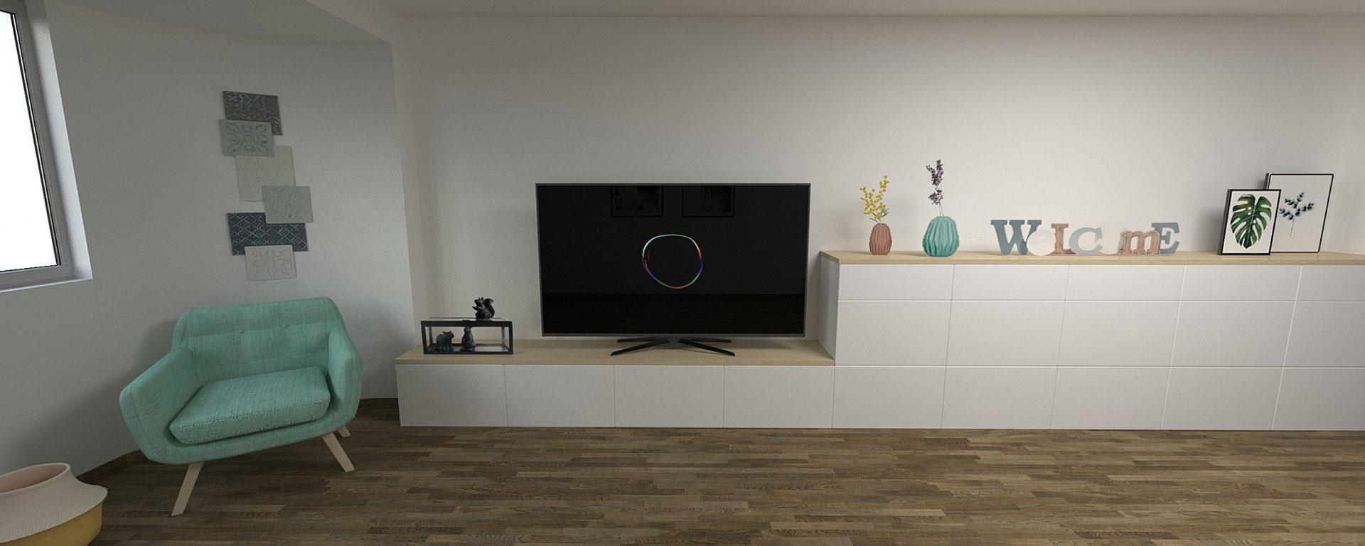 Salon blanco y madera stunning saln moderno en blanco y for Salon blanco y madera