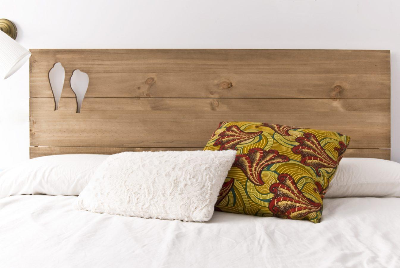Cabecero blanco madera ideas de disenos - Cabecero blanco madera ...