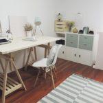 Oficina-blanco-y-de-madera