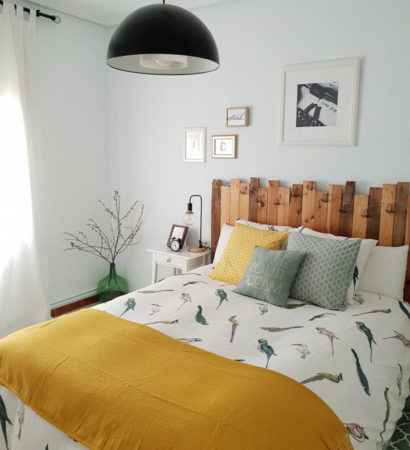 La casa de estilo nórdico vintage de @letdecora