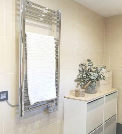 Como elegir un radiador toallero para tu baño
