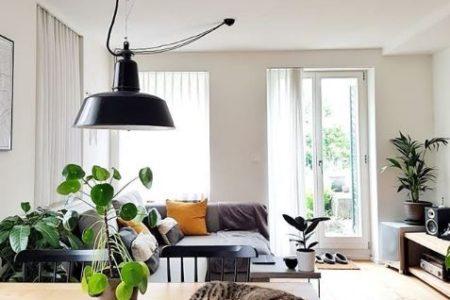 La vivienda con diseño nórdico, boho e industrial de @myhomeinswitzerland