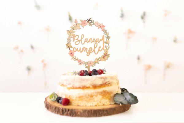 Cake-Topper-Corona-Floral