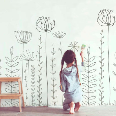 mural_infantil_flores